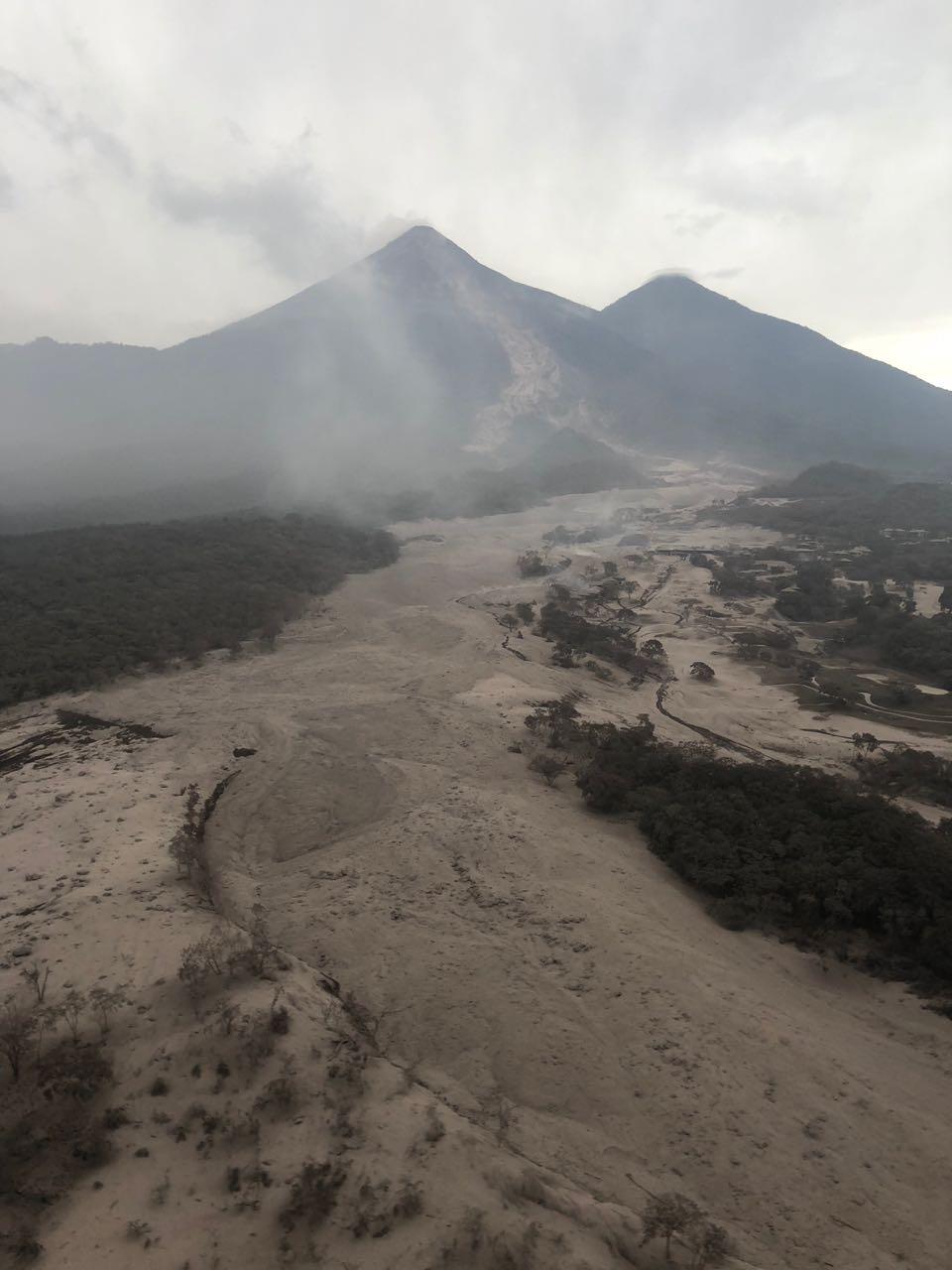 Situación de emergencia por la erupción del Volcán de Fuego en Guatemala