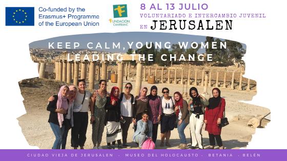 Del 8 al 13 de julio nos vamos a Jerusalen
