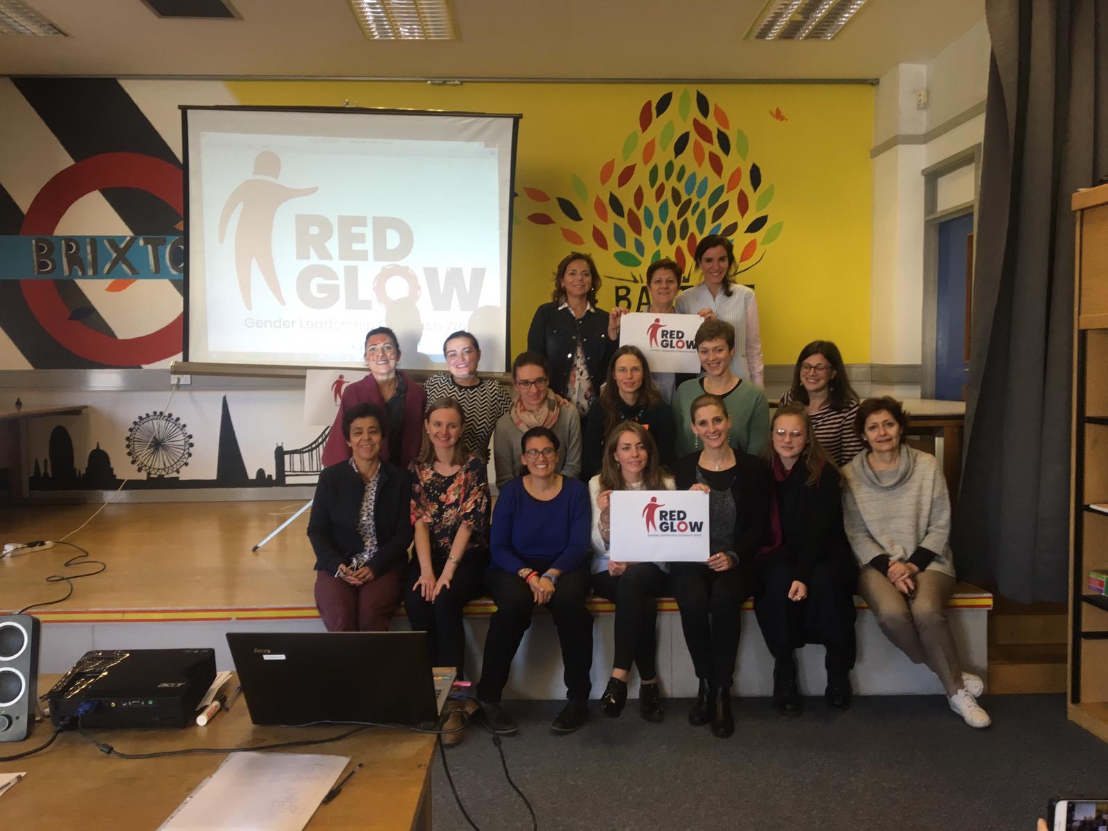 Encuentro de los Youth Workers del Proyecto Red Glow en Londres